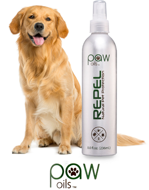 Organic but repellant for pets
